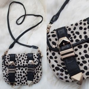 Rebecca Minkoff Dalmatian Pony Hair Crossbody